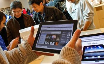 Apple iPad Verkaufsstart