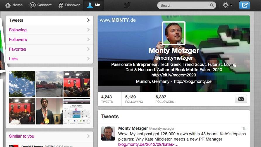 Twitter Header Image @MontyMetzger