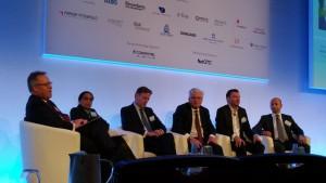 RiskMinds Panel Diskussion Zukunft der Finanzbranche